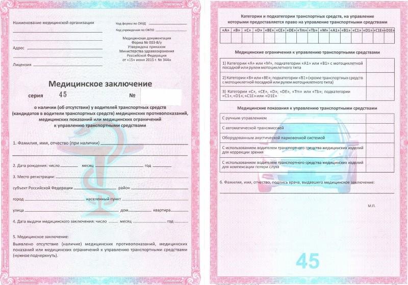 Пройти медкомиссию для водительской справки в Москве Сокол